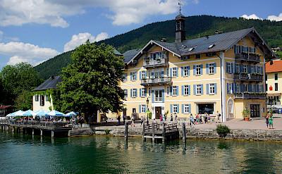 Lake Tegernsee in the Bavarian Alps, Germany. Photo via Flickr:Heribert Bechen