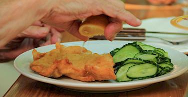 Schnitzel in Austria - a favorite! Flickr:Michela Simoncini