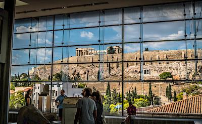 Acropolis Museum in Athens, Greece. Flickr:Phanatic