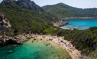 Beach in Corfu, Ionian Islands, Greece. Flickr:Andres Papp