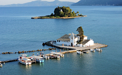 Panagia Vlachernon Monastery in Corfu, Ionian Islands, Greece. Flickr:Dimitris Kamaras