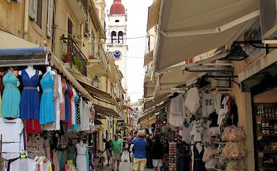 Shopping in Corfu, Ionian Islands, Greece. Flickr:Luc Coekaerts