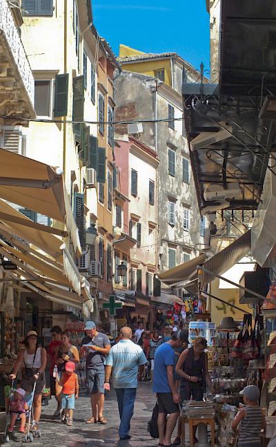 Shopping in Corfu, Ionian Islands, Greece. Flickr:Michael Button