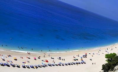 Beach in Lefkas, Ionian Islands, Greece. Flickr:constant progression
