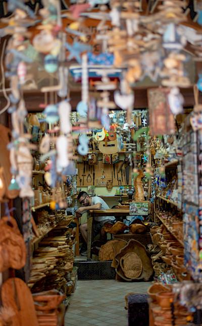 Shop on Paxos Island, Greece. Flickr:Dom Crossley
