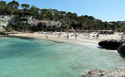 Beach in Mallorca, Spain. CC:Olaf Tausch