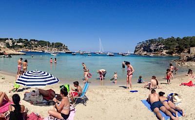 Beach in Mallorca, Spain. Flickr:Kyle Taylor