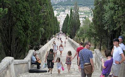 The famous Calvari Steps in Pollensa, Mallorca, Spain. CC:Adam Loader