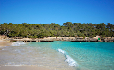 Beach in Mallorca, Spain. Flickr:Random_fotos