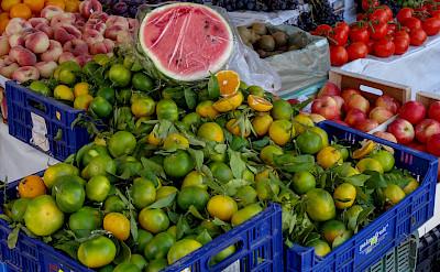 Fruit market in Mallorca, Spain. Flickr:Michael Button