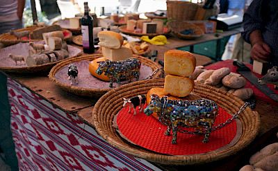 Market in Mallorca, Spain. Flickr:clemisan