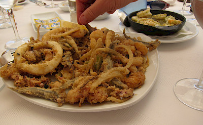 Fresh seafood in Mallorca, Spain. Flickr:Jay Cross