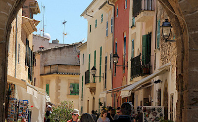 Shopping in Mallorca, Spain. Photo via TO