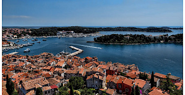 Rovinj on the Adriatic Sea, Istria, Croatia. Photo via Flickr:Mario Fajt