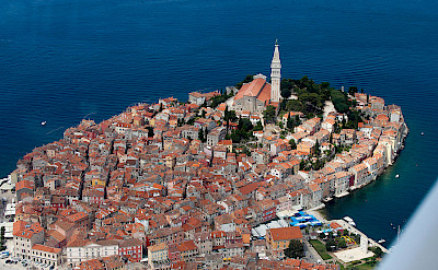 Rovinj, Istria, Croatia. Photo via Wikimedia Commons:Jeroen Komen