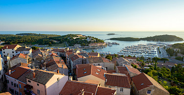 Harbor in Vrsar, Istria, Croatia. Photo via Flickr:Nick Savchenko