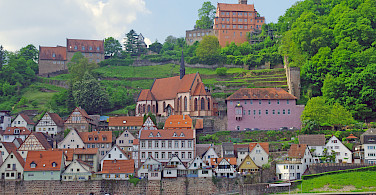Eberbach am Neckar, Germany. Photo via Tour Operator