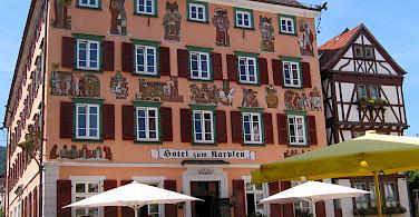 Eberbach, part of the Rhein-Neckar-Kreis district in Germany. Photo via Wikimedia Commons-Public Domain