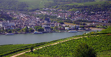 Overlooking Rudesheim and Bingen, Germany. Photo via TO