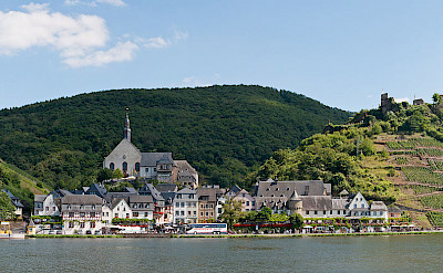 Beilstein along the Mosel River in Germany. CC:Kaustin