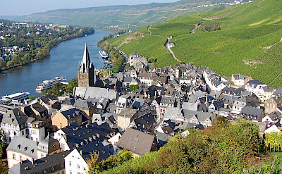 Bernkastel-Keus along the Mosel River in Germany. CC:Berthold Werner