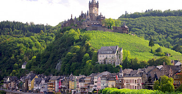 Cochem on Koblenz to Saarburg Germany Bike Tour. Photo via Tour Operator