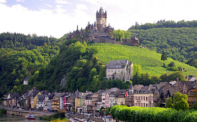 Cochem on Koblenz to Saarburg Germany Bike Tour. Photo via TO