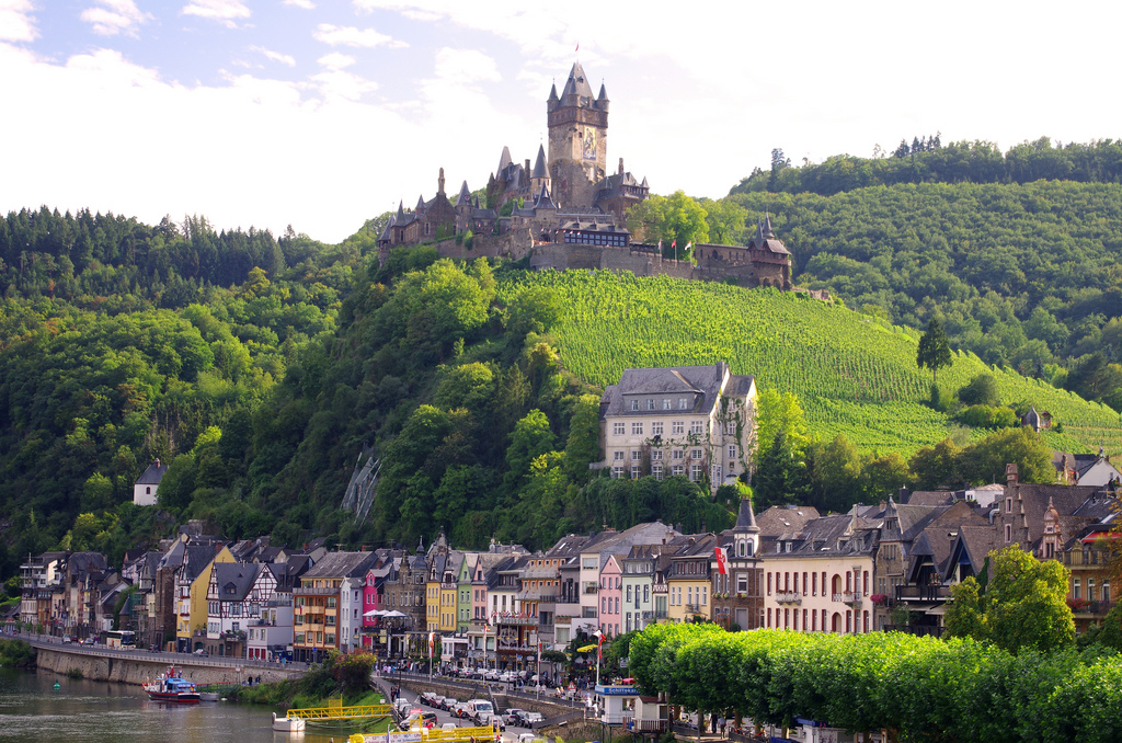 Koblenz Boat Tours On Moselle