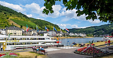 Cochem, Germany along the Mosel River. Photo via Flickr:Frans Berkelaar
