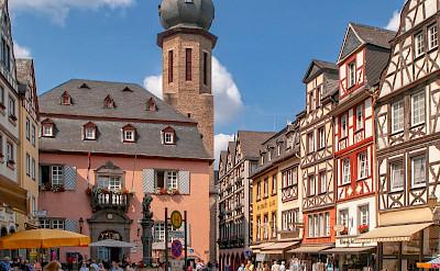 Bike rest in Cochem, Rhineland-Palatinate, Germany. Flickr:Frans Berkelaar