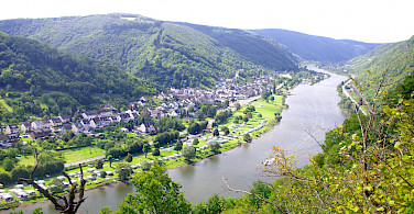 Beautiful Mosel River on Koblenz to Saarburg Germany Bike Tour. Photo via Tour Operator
