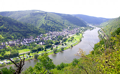 Beautiful Mosel River on Koblenz to Saarburg Germany Bike Tour. Photo via TO