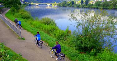 Biking the Mosel on Koblenz to Saarburg Germany Bike Tour. Photo via Tour Operator