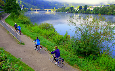 Biking the Mosel on Koblenz to Saarburg Germany Bike Tour. Photo via TO