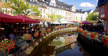 Picturesque Saarburg, Germany. Photo via Tour Operator
