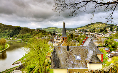 Saarburg along the Saar River, Germany. Flickr:Wolfgang Staudt