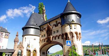 Traben to Trabach on Koblenz to Saarburg Germany Bike Tour. Photo via Tour Operator