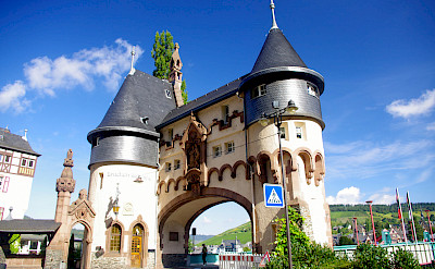 Traben to Trabach on Koblenz to Saarburg Germany Bike Tour. Photo via TO