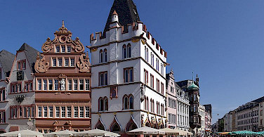 Town of Trier, Germany along the Mosel River. Photo via Wikimedia Commons:Berthold Werner