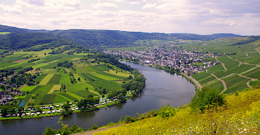 Scenic view on Koblenz to Saarburg Germany Bike Tour. Photo via Tour Operator