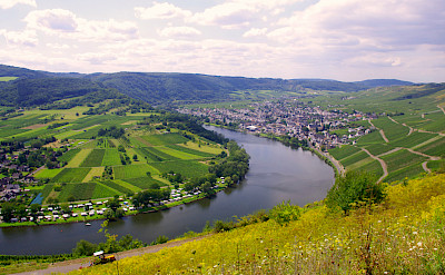 Scenic view on Koblenz to Saarburg Germany Bike Tour. Photo via TO