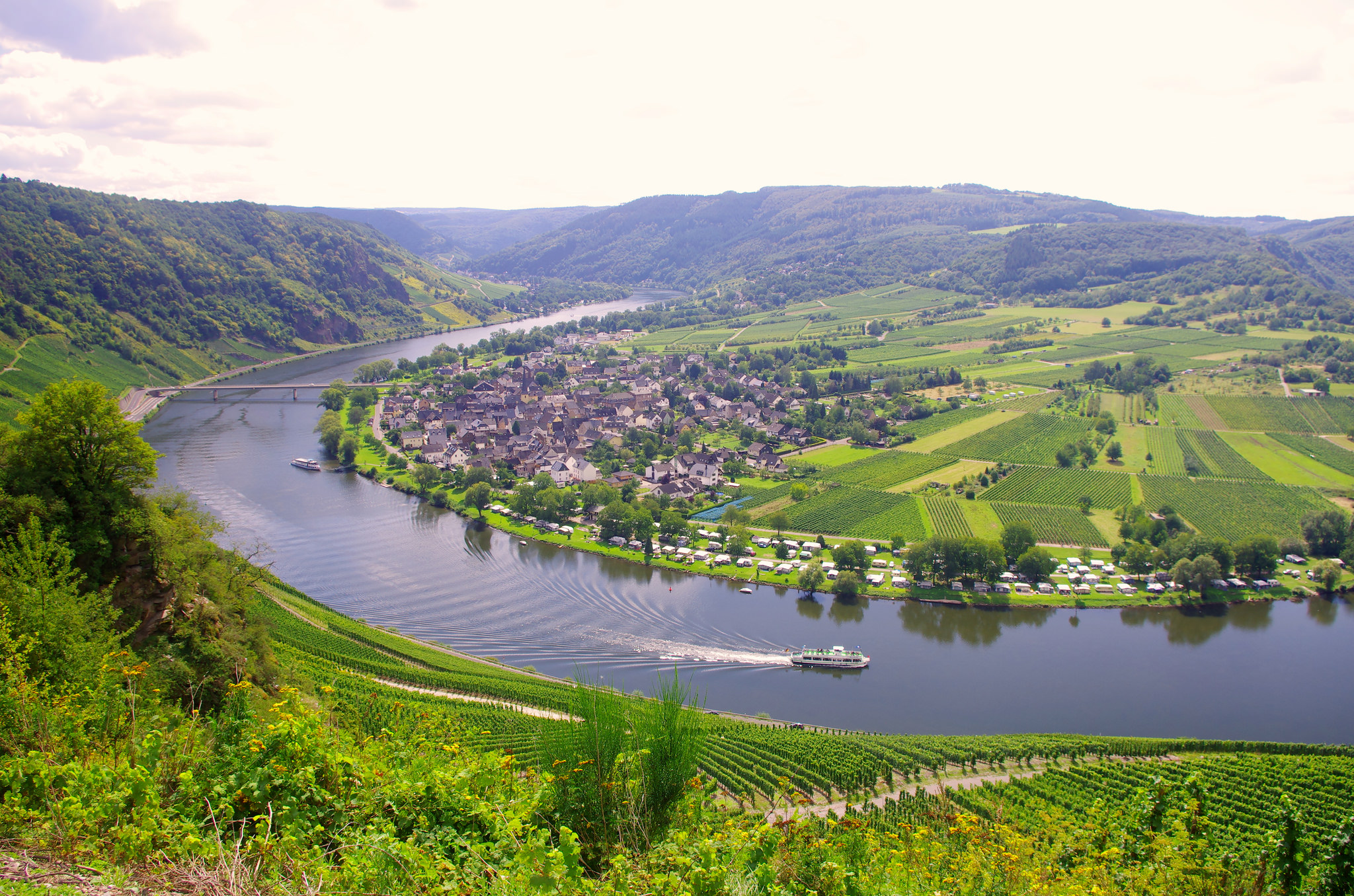 Koblenz To Saarburg Bike And Barge Tour Germany Tripsite
