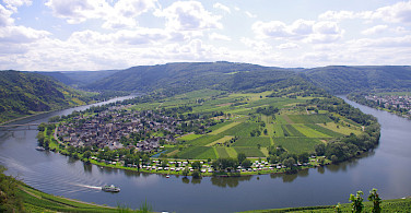 Biking and Boating the Koblenz to Saarburg Germany Bike Tour. Photo via Tour Operator