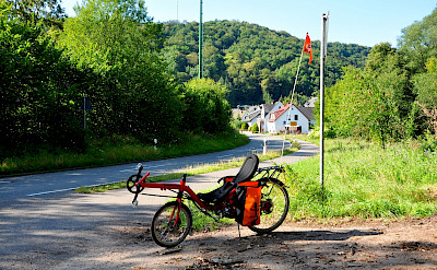 All kinds of bikes in Wasserbillig, Luxembourg. Flickr:sacratomato_hr