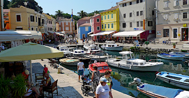 Port in Mali Losinj, Croatia