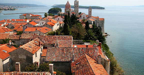 Old Town of Rab, Croatia. Flickr:Tess