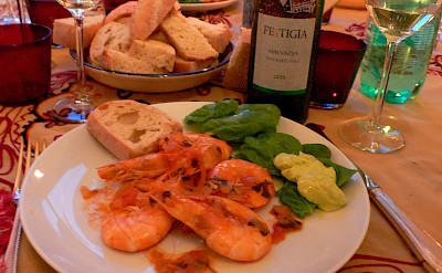 Seafood in Croatia. Flickr:Heather Cowper