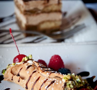 Cannoli or tiramisu?! Desserts in Italy - heaven! Photo via Flickr:Alexis Fam Photography