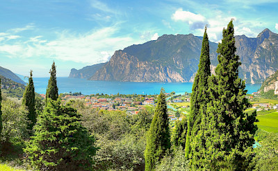 Gorgeous scenery around Lake Garda, Italy. Photo via Flickr:amiraa