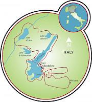Lago Garda Mapa